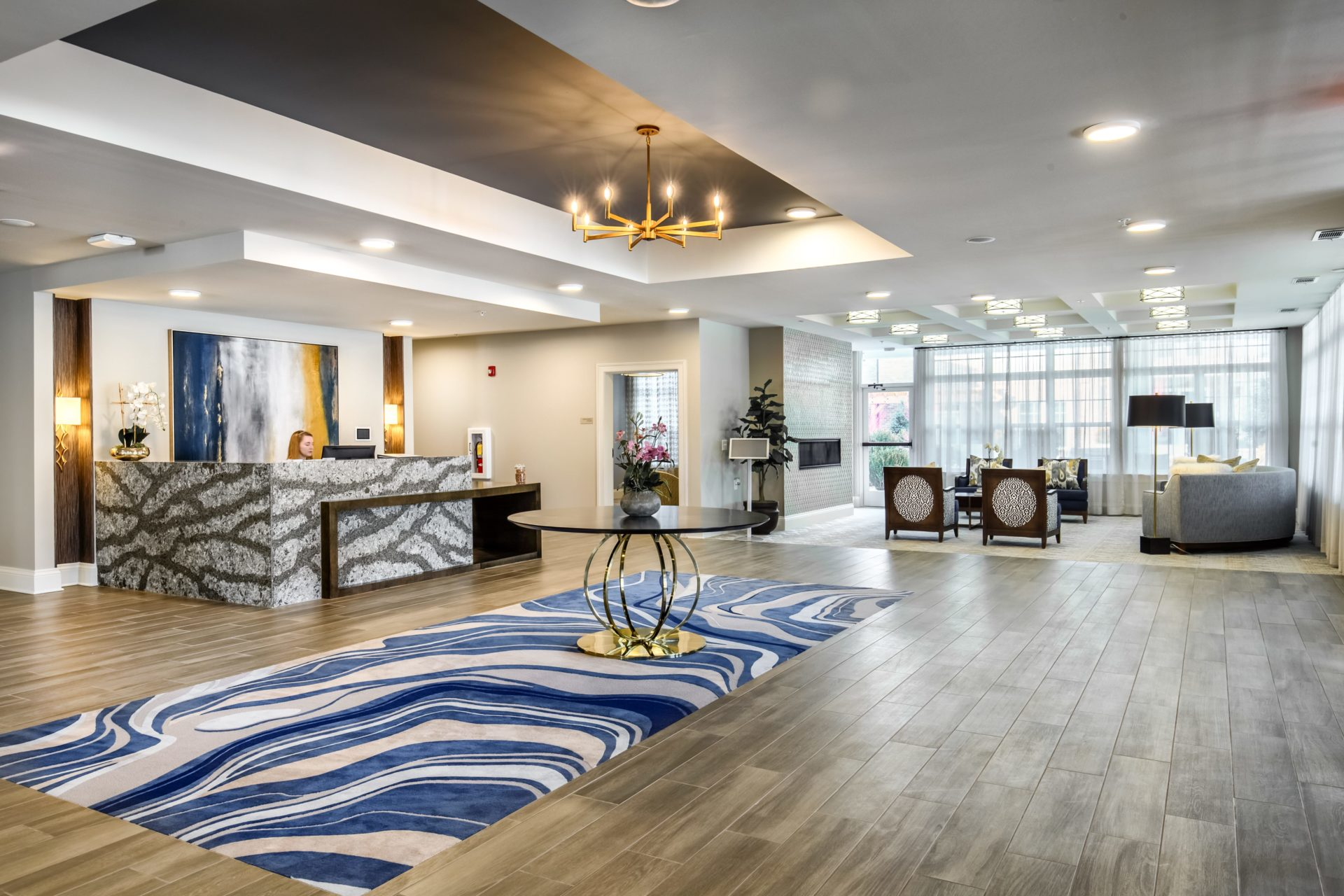 Senior Living Project by DCO Commercial Floors: Arbor Terrace