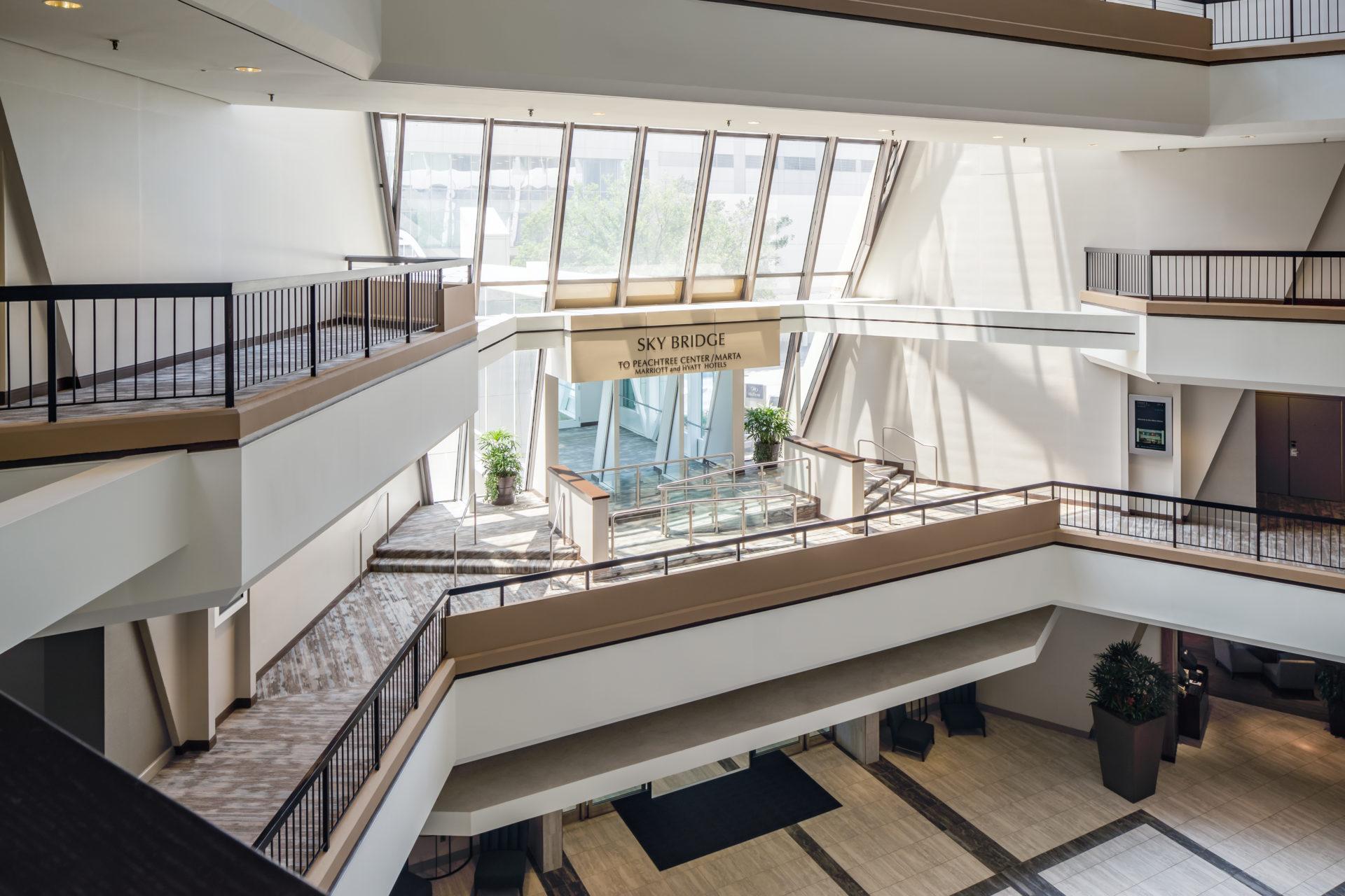 mulit-level hospitality renovation