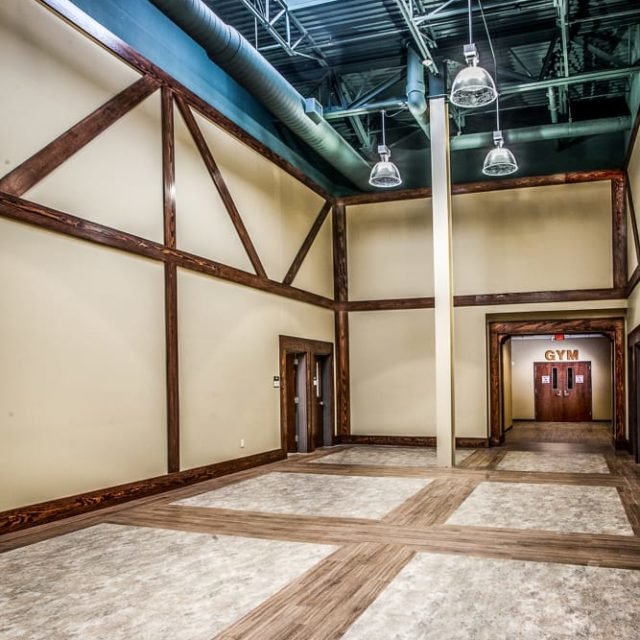 Academy for Classical Education with vinyl flooring