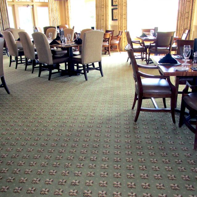 Dining area of country club