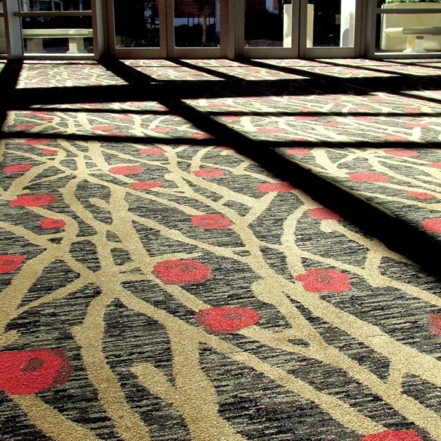 Unique Carpet at the Georgia Center