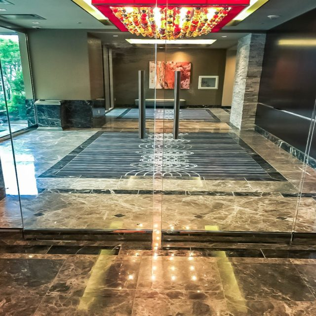 Marble Floors in Golden Nugget Front Lobby