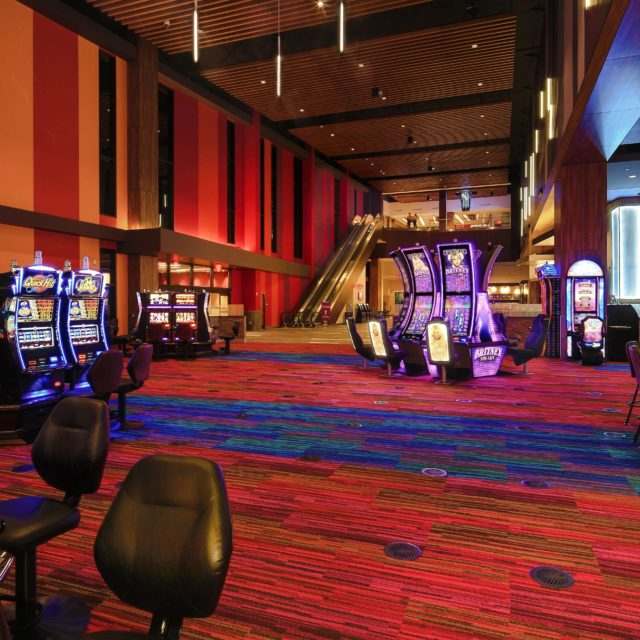 Colorful Carpet at Harrah's Casino