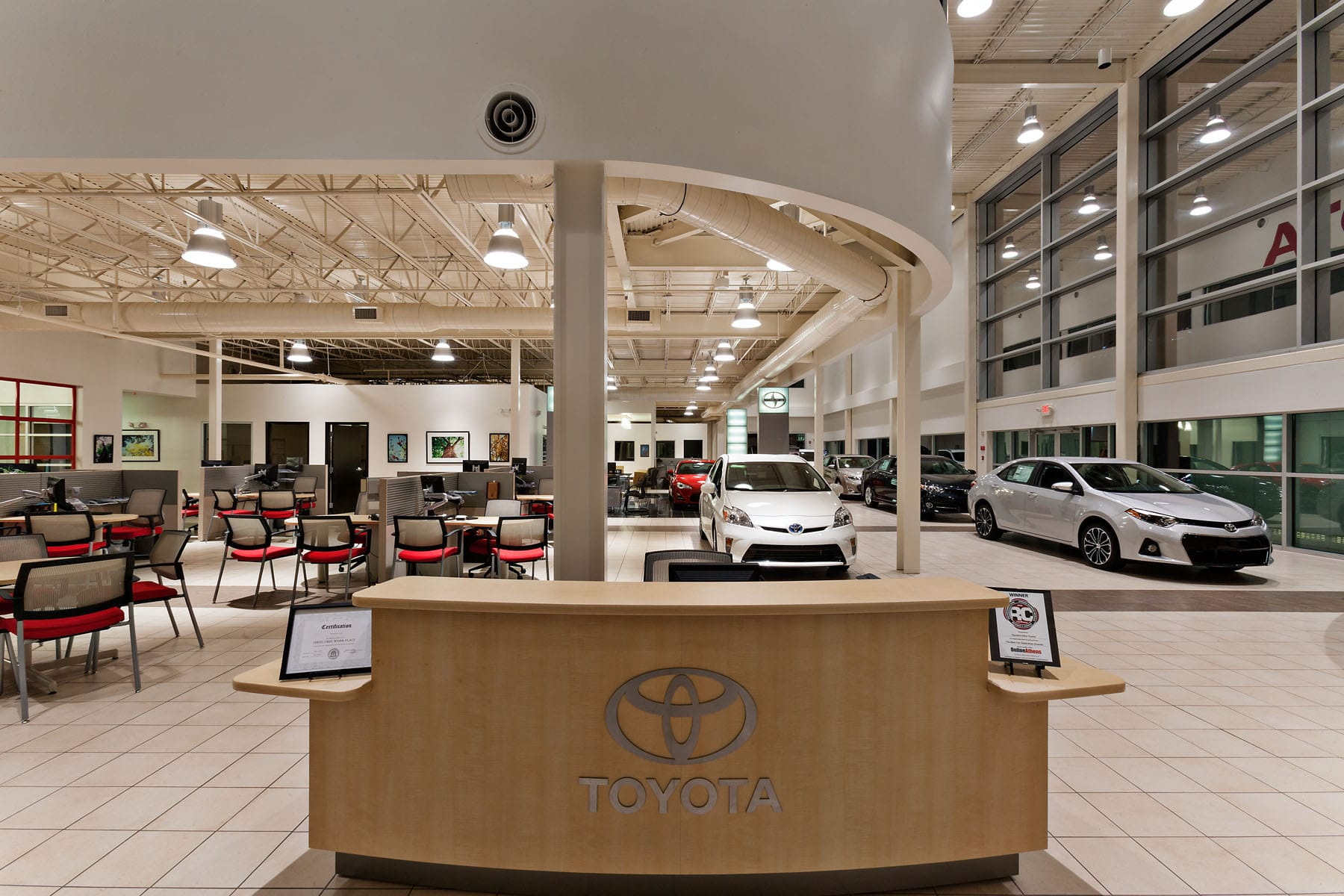 heyward allen toyota dco commercial floors. Black Bedroom Furniture Sets. Home Design Ideas