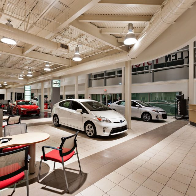 Resilient TIle Floors at Heyward Allen Toyota