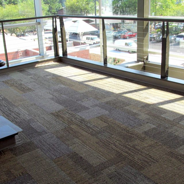 DCOCF installed carpet tile at Holy Innocents Episcopal School