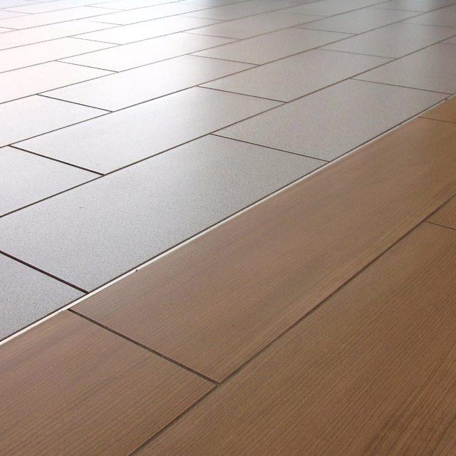 Tile Floors in the Showroom