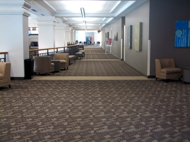 Durable, Dual-Toned Carpet at UGA
