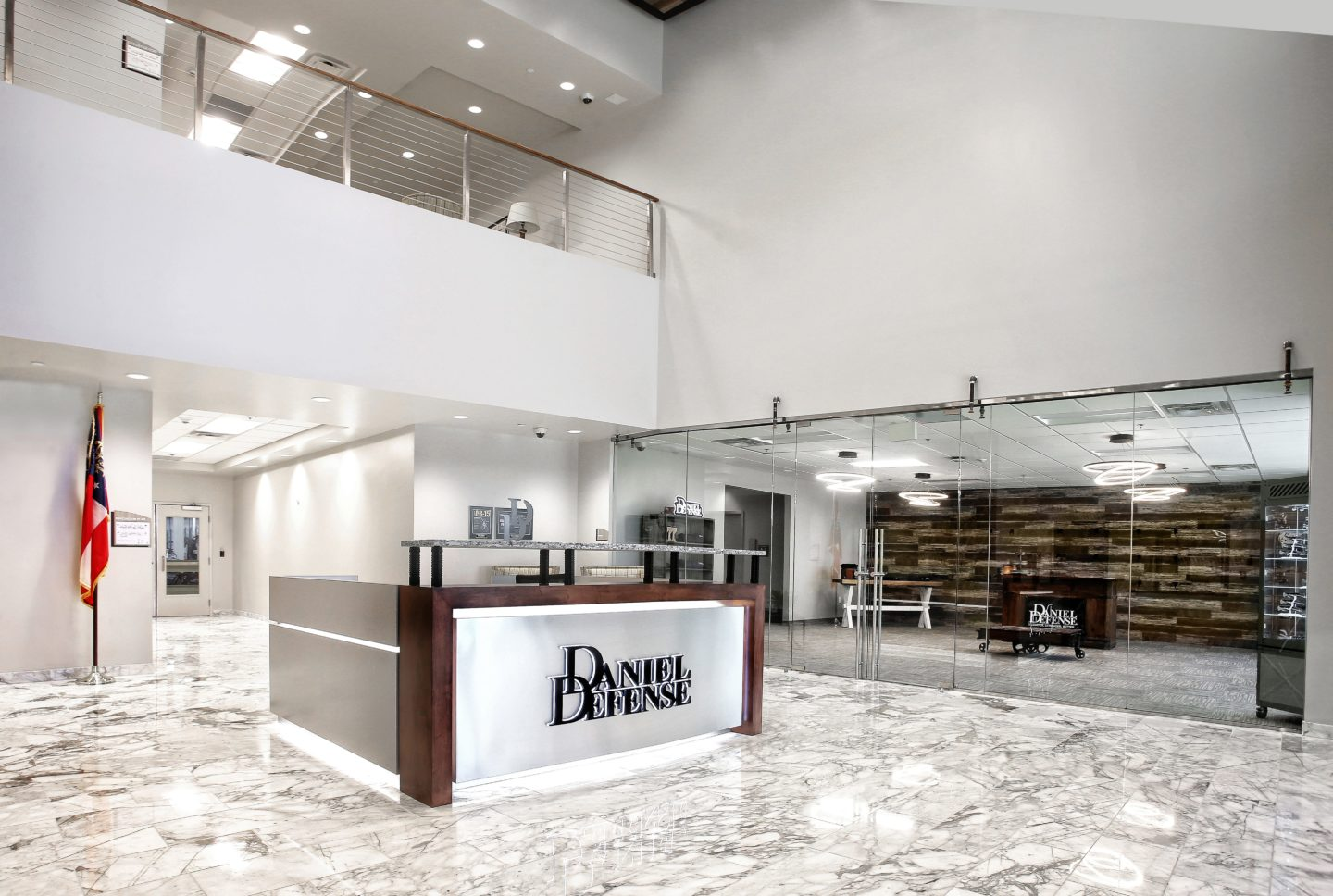 Herringbone Venetian Polished Marble at Daniel Defense