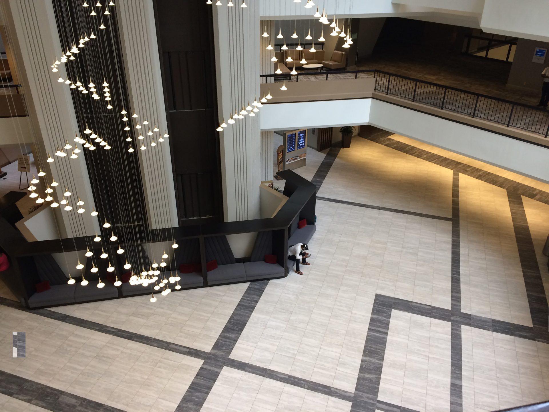 Newly Renovated Entrance at the Atlanta Hilton