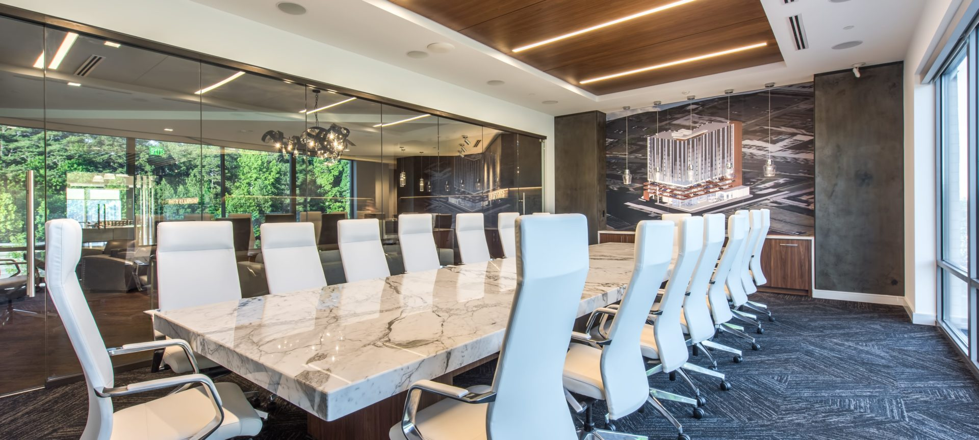 Luxury Marble Conference Table at Reeves Young