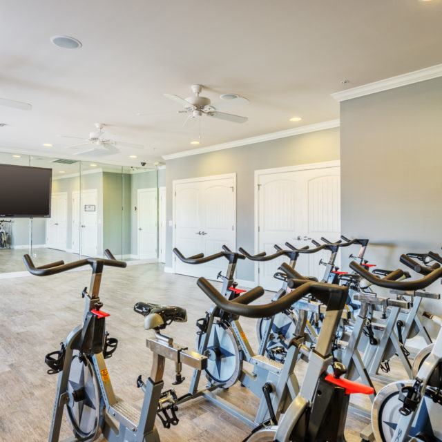 Aspen Heights - Auburn fitness room