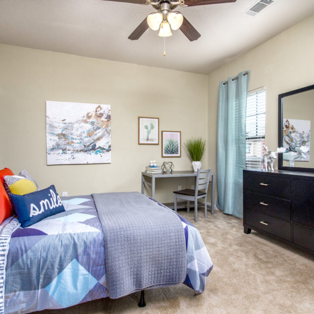 Aspen Heights - Clemson unit bedroom