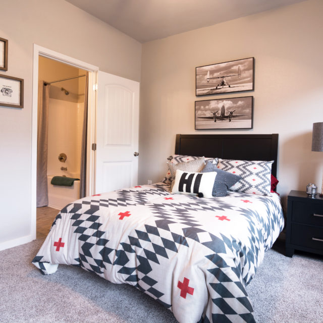 bedroom at Aspen Heights - College Station