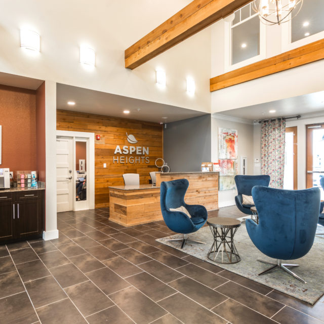 Aspen Heights - College Station clubhouse