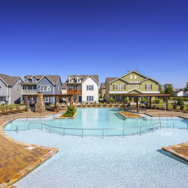 Pool area at Aspen Heights - Murfreesboro